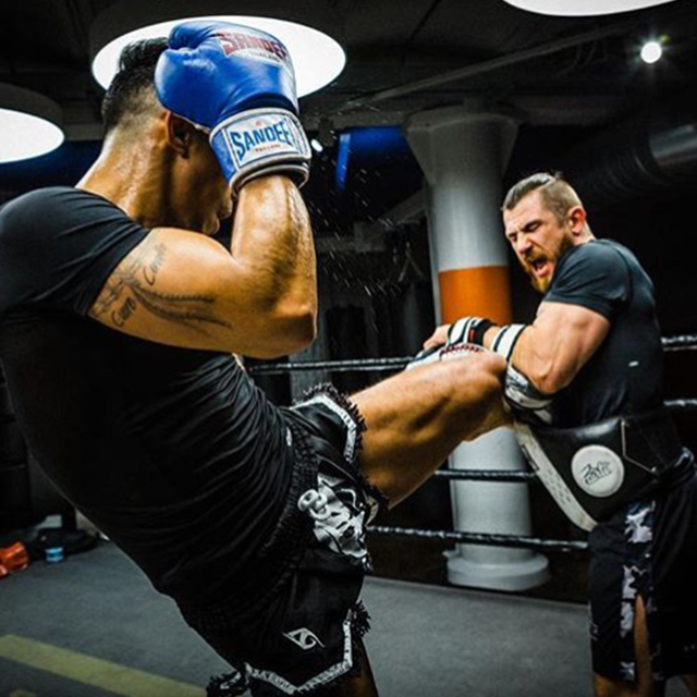 Muay Thai and Boxing / Pad work
